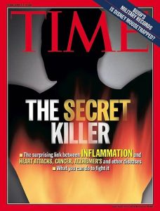 image of inflammation published on the time magazine image