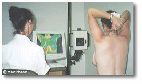 image of tech with patient